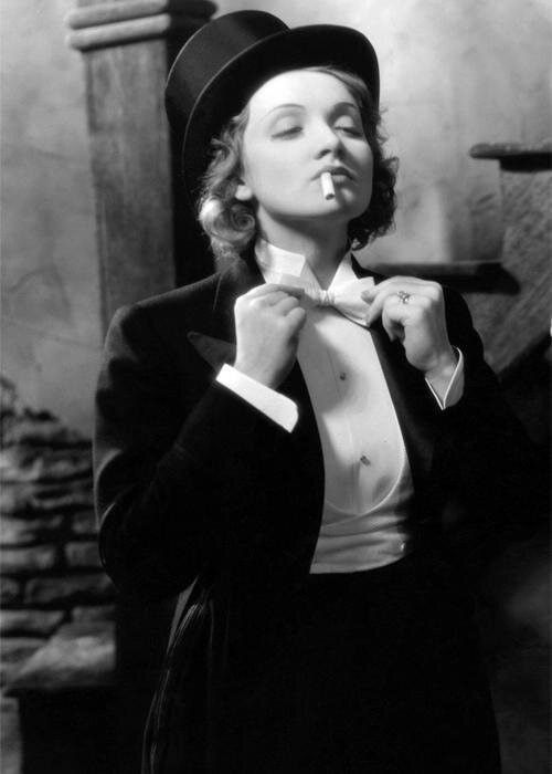 A TRIP DOWN MEMORY LANE: MARLENE DIETRICH AND THE UNISEX TUXEDO