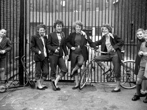 The Forgotten 1950s Girl Gang